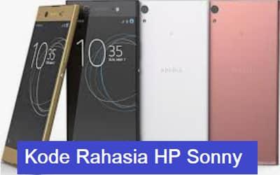 Kode Rahasia HP Sony Semua Tipe Dan Seri