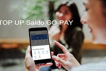 caran top up gopay