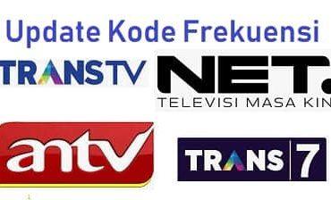 frekuensi trans tv trans7 net tv antv