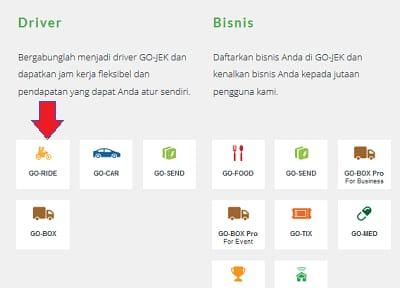 Cara daftar Gojek Bengkayang