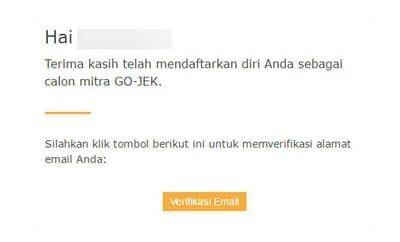 Pendaftaran Gojek Online